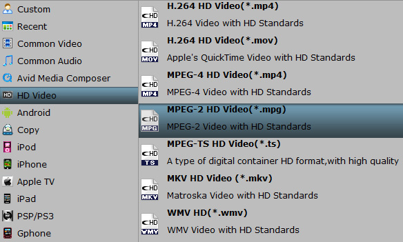 Convert Blu-ray to MPEG on Mac