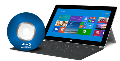 Watch Blu-ray movies on Surface 2