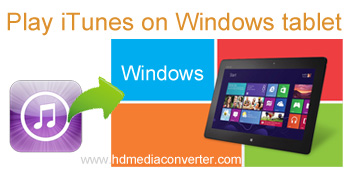 Play iTunes on Windows tablet
