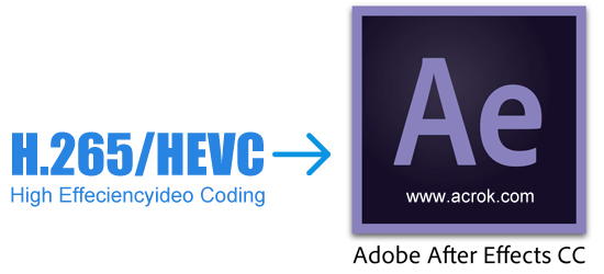 Edit Samsung NX1 H.265 videos in After Effects CC
