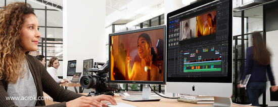 Import and edit Canon XF705 MXF in Davinci Resolve 15
