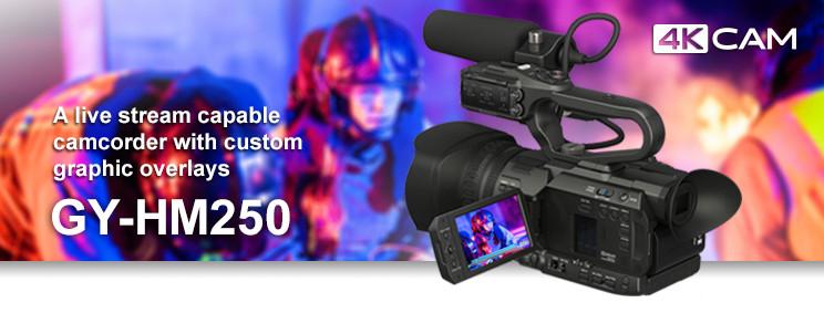 Import JVC GY-HM250 4K MOV MP4 to Premiere Pro CC